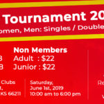 Tennis Tournament - Doubles Registration - NM