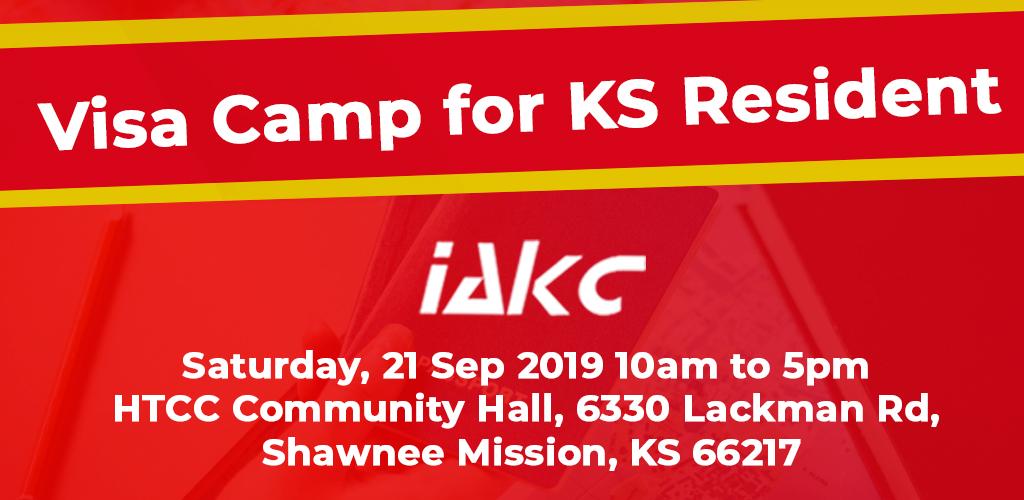 Visa Camp for KS Resident